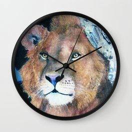Ever Watchful by Maureen Donovan Wall Clock