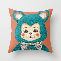 Bitsy the Bear Throw Pillow