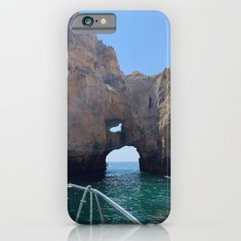 A Day Boating in Portugal Vicariously iPhone Case