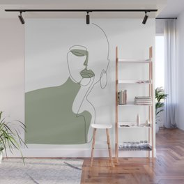 Looking Green Wall Mural