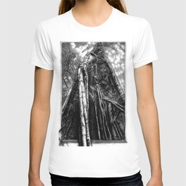 Fig Tree with border T-shirt