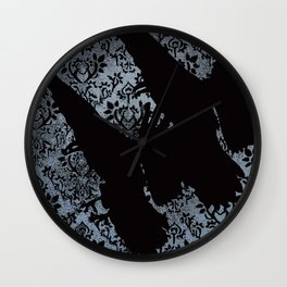 Nameless Here for Evermore Alternate Wall Clock