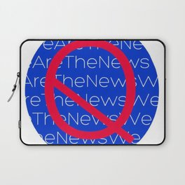 WE ARE THE NEWS Laptop Sleeve