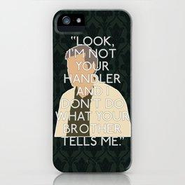 The Hounds of Baskerville - Greg Lestrade iPhone Case