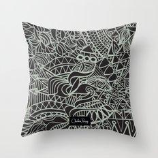 Lux Tux Throw Pillow