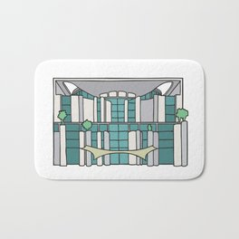 Chancellery in Berlin Bath Mat