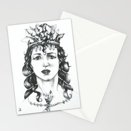 Butterfly Crowned Priestess Stationery Cards