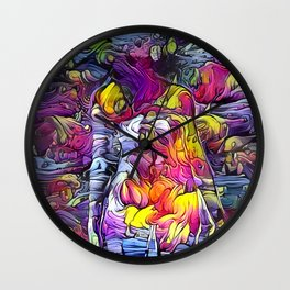 Body Concept Wall Clock