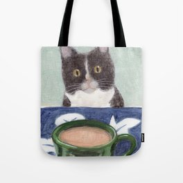 Coffee with Henry #4 Tote Bag