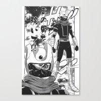 manga Canvas Prints featuring Manga 04 by Zuno