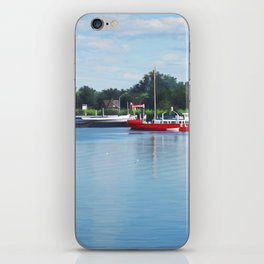 Summer river iPhone Skin
