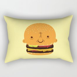 Cheeseburgerhead Rectangular Pillow