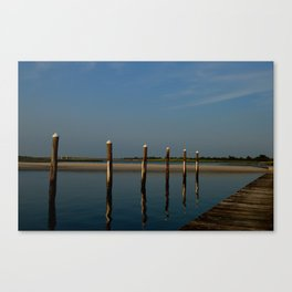 Wood & Water Canvas Print