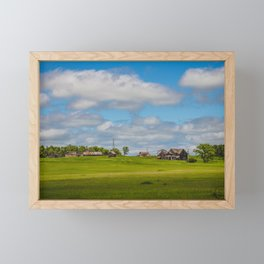 Jumbled Abandoned Farm, Burleigh County, North Dakota 3 Framed Mini Art Print
