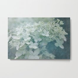 Veiled Beauty Metal Print