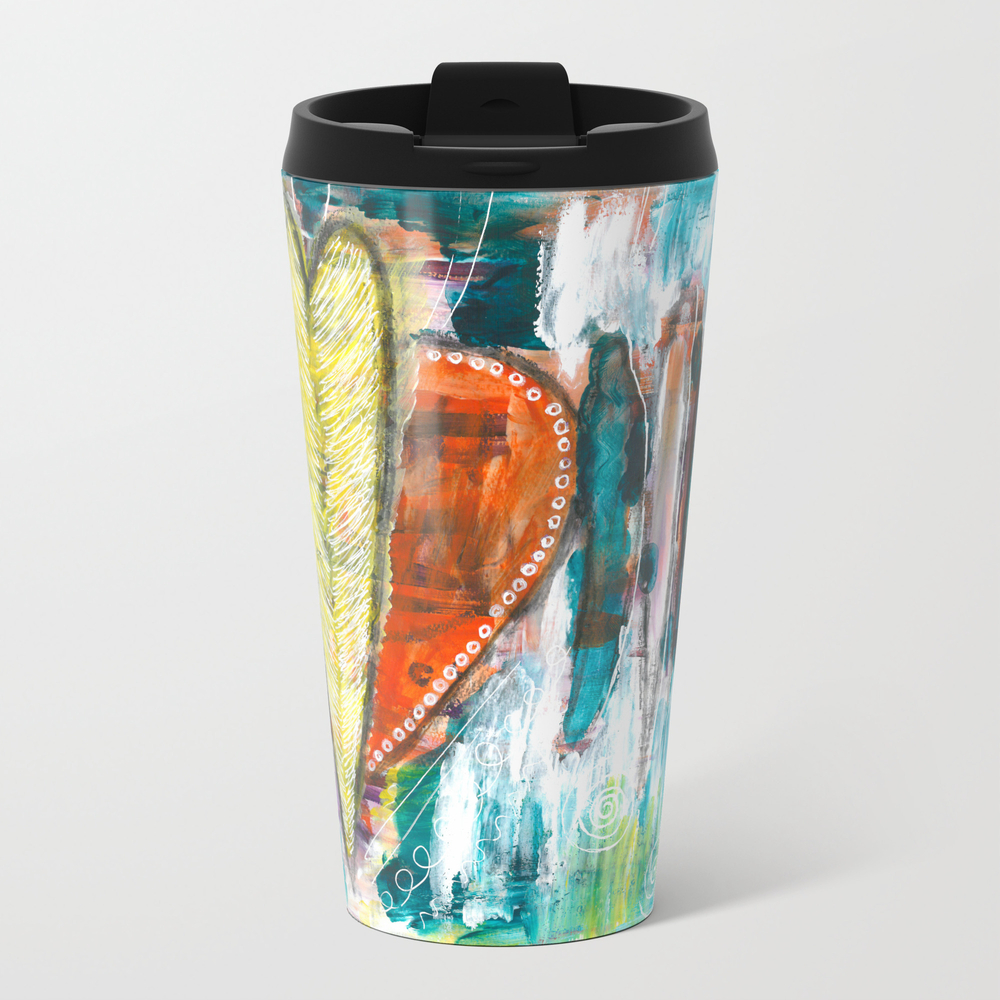 A Night's Healing Metal Travel Mug by Cauldronofcolour MTM7941640