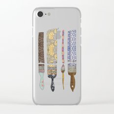 color your life Clear iPhone Case