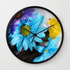Gerbera daisy Flowers  Wall Clock