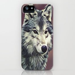 The Tundra Wolf iPhone Case