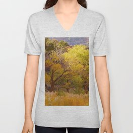 Trees In Zion Unisex V-Neck