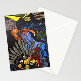 Matchstick Tooth Man Stationery Cards