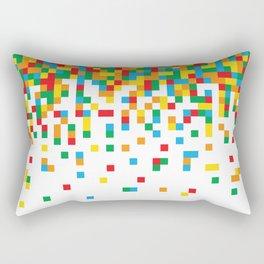 Pixel Chaos Rectangular Pillow