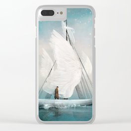 Journey Clear iPhone Case