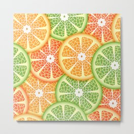 Citruses Metal Print