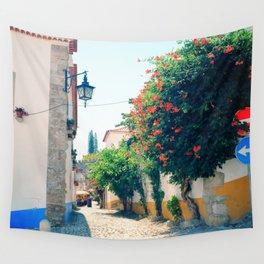 Obidos, Portugal(RR176) Analog 6x6 Kodal Ektar 100 Wall Tapestry