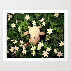 Yeah, Spring flowers Art Print