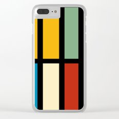 Abstract composition 23 Clear iPhone Case
