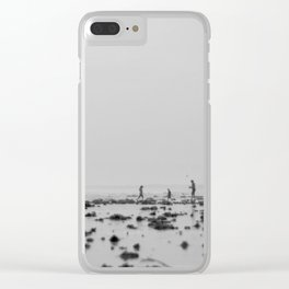 Day at the Beach Clear iPhone Case