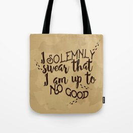 Marauder's Map - I solemnly swear that I am up to no good Tote Bag