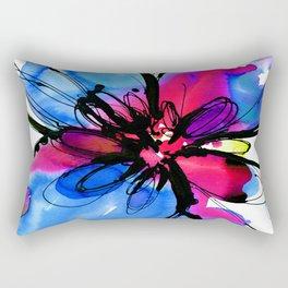 Ecstasy Bloom No.17a by Kathy Morton Stanion Rectangular Pillow