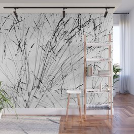 Winter Grasses Wall Mural