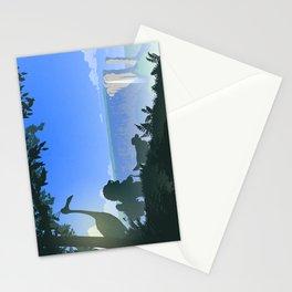 Paradise Falls Stationery Cards