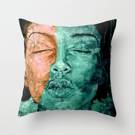 I used to know myself Throw Pillow