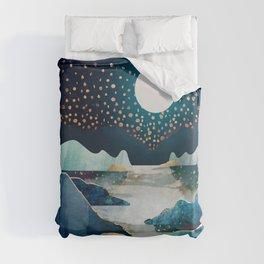 Moon Glow Duvet Cover