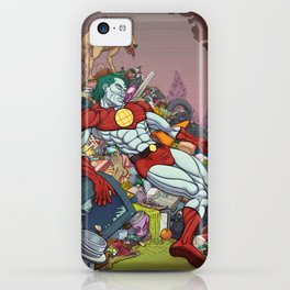 The Death of Captain Planet iPhone Case