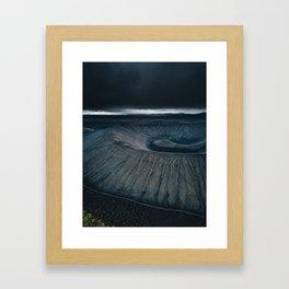 Dormant Volcano Framed Art Print