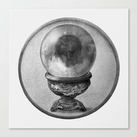 dragon ball Canvas Prints featuring Crystal Ball  by Terry Fan