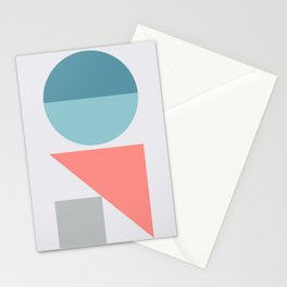 Geometric Form No.3 Stationery Cards