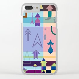 Up....Keep going! Clear iPhone Case