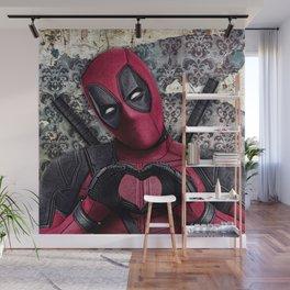 Dead pool - Sweet superhero Wall Mural