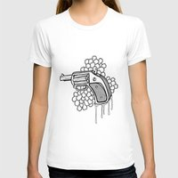gun T-shirts featuring Gun by WithoutG