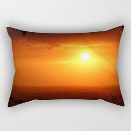 Breathe (No Text) Rectangular Pillow