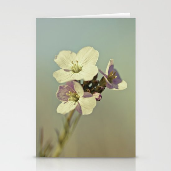 Cuckoo Flower 2 Stationery Cards