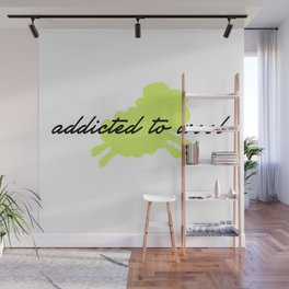 Addicted to Wool - Lime Wall Mural