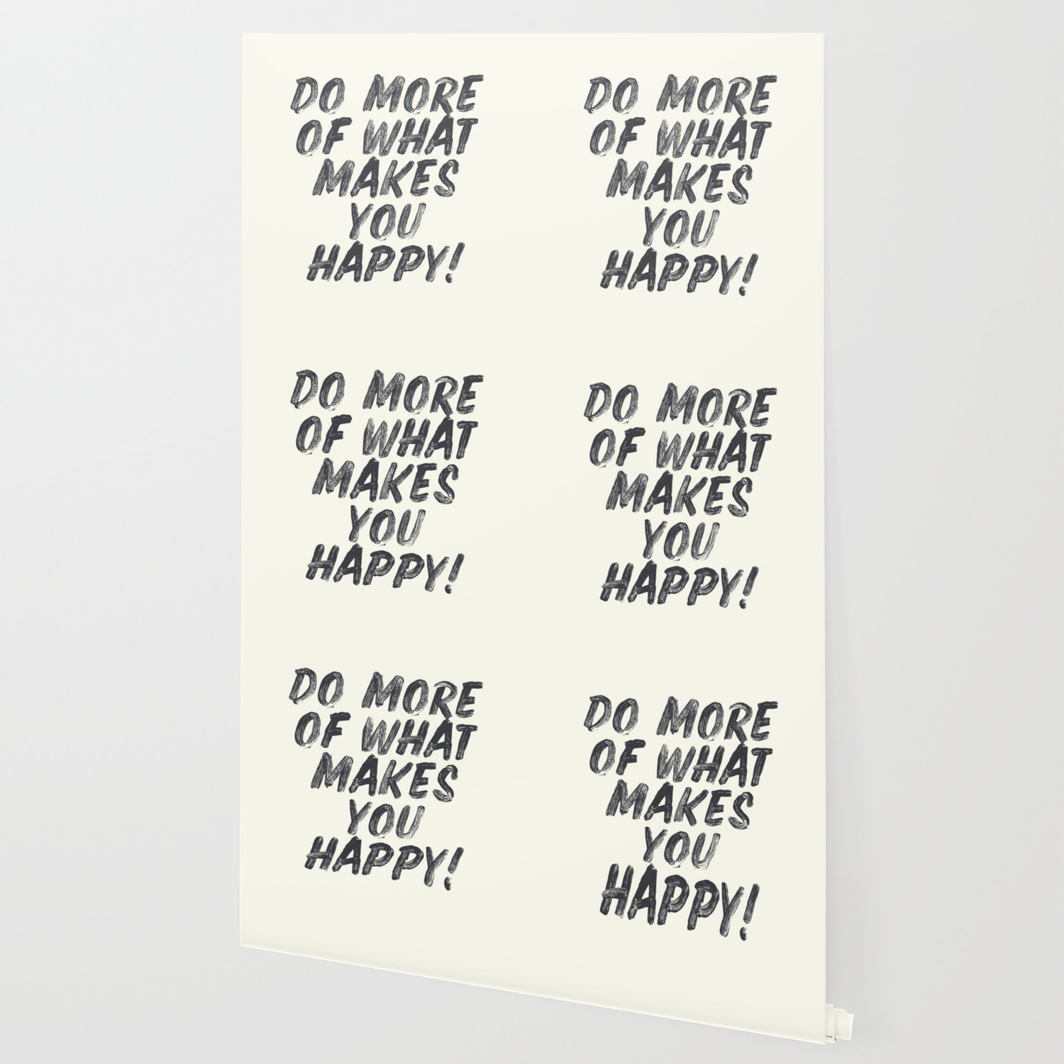 Do More Of What Makes You Happy Handwritten Positive Vibes Inspirational Motivational Quote Wallpaper By Stefanoreves Society6