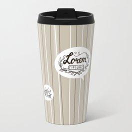 Designer SmallTalk Travel Mug